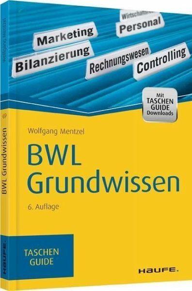 Broschiertes Buch »BWL Grundwissen«