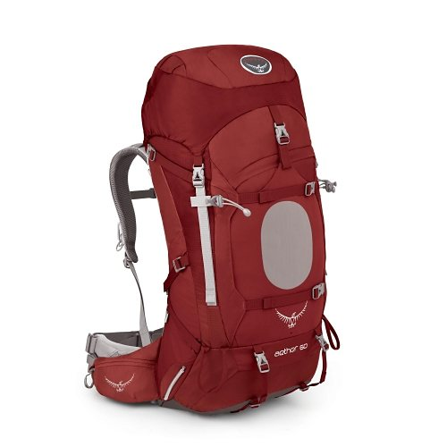 Osprey Rucksäcke »Aether 60 LG« in arroyo red