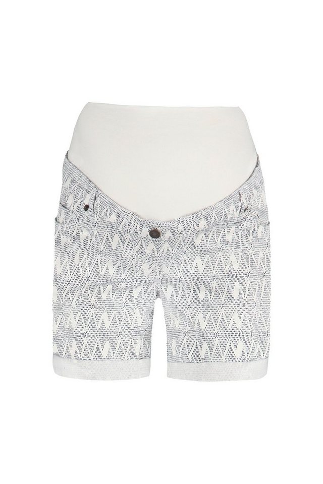 BELLYBUTTON Umstandsshorts »Johana, geprinted« in allover/multicolored