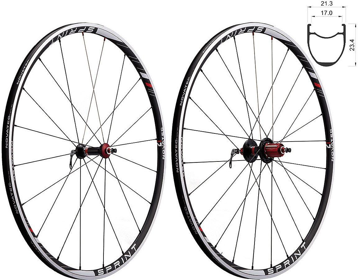 Novatec Laufrad »Sprint U1 Laufradsatz Rennrad 8-11fach«