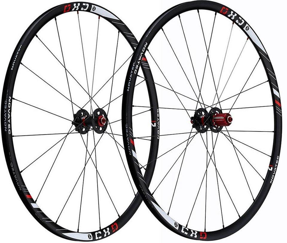 Novatec Laufrad »CXD U1 Laufradsatz 28 Zoll CycloCross 10fach«