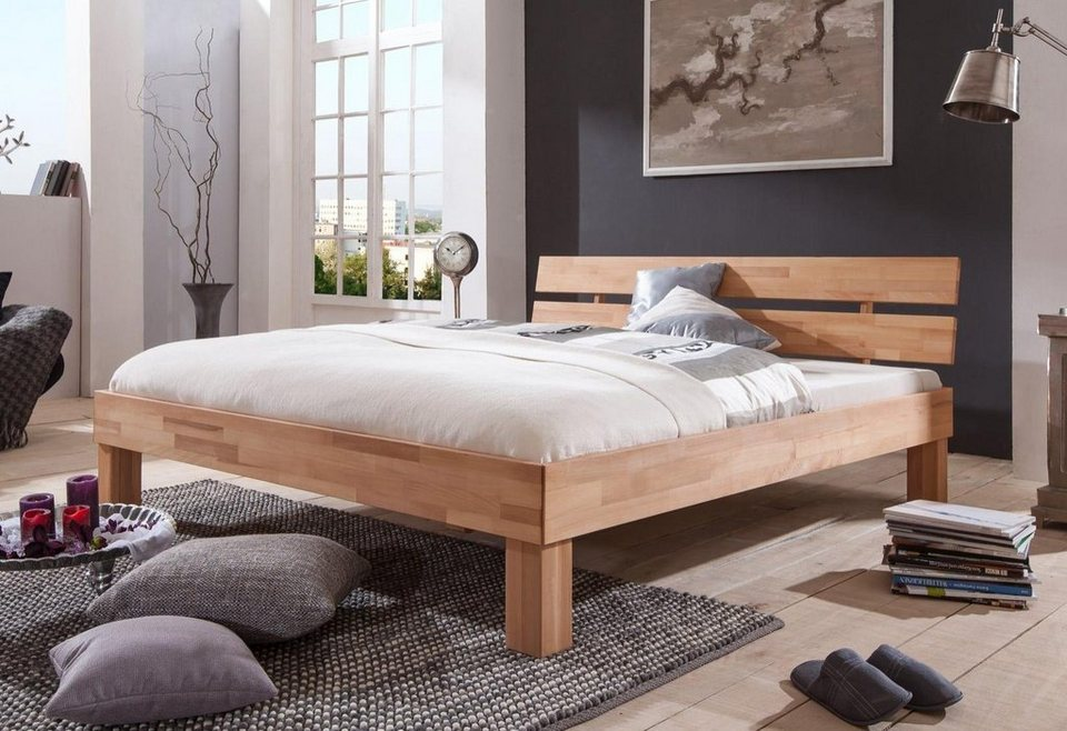 holzbett buche trendy bett buche x einzel gestell holz massivholz bett buche x with bett x. Black Bedroom Furniture Sets. Home Design Ideas
