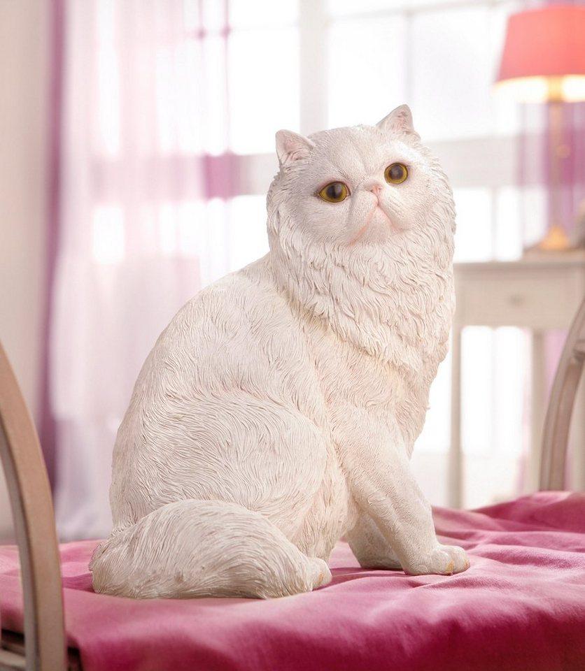 Home affaire Dekofigur »Katze« in weiß