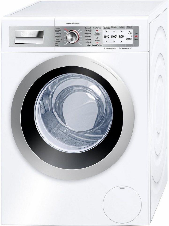 BOSCH Waschmaschine WAYH87W0, A+++, 8 kg, 1400 U/Min in weiß