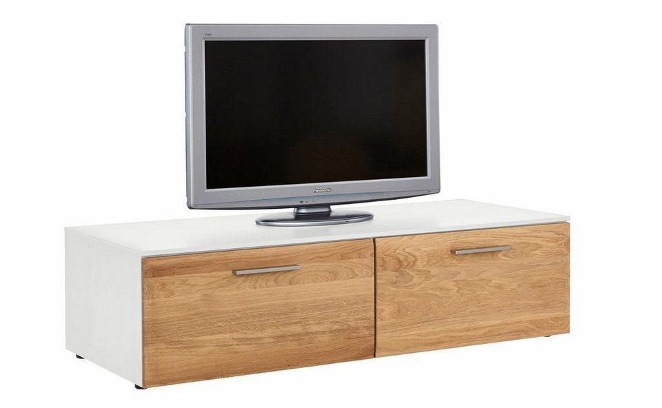 netfurn by gwinner lowboard solano lack wei mit 2. Black Bedroom Furniture Sets. Home Design Ideas