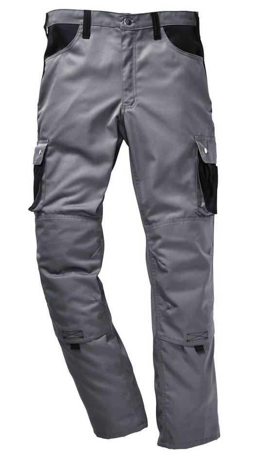 Arbeitshose »Lambda X« in grau/schwarz