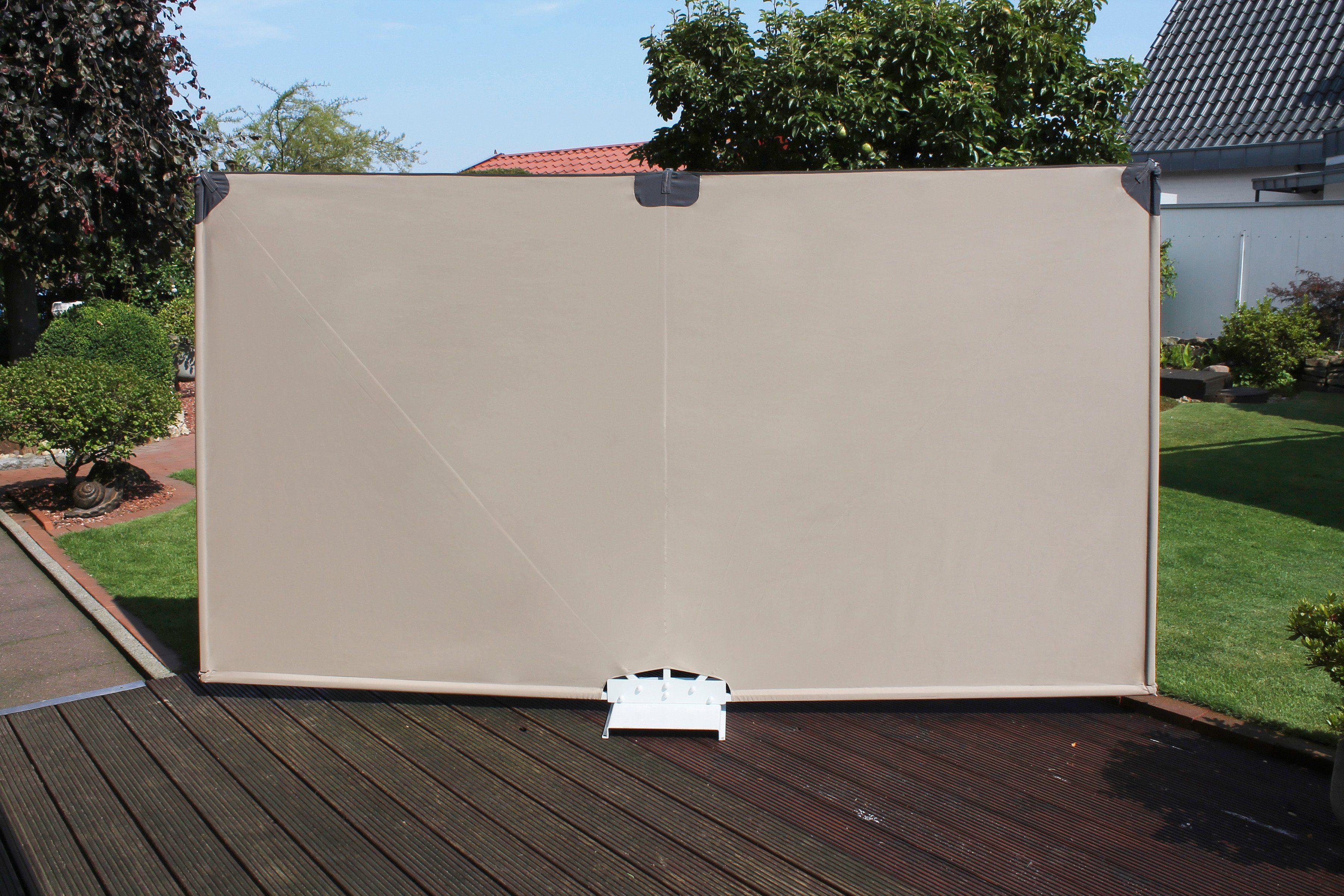 LECO Wind- und Sichtschutz »Mobiler-Sichtschutz«, 300 x 160 cm