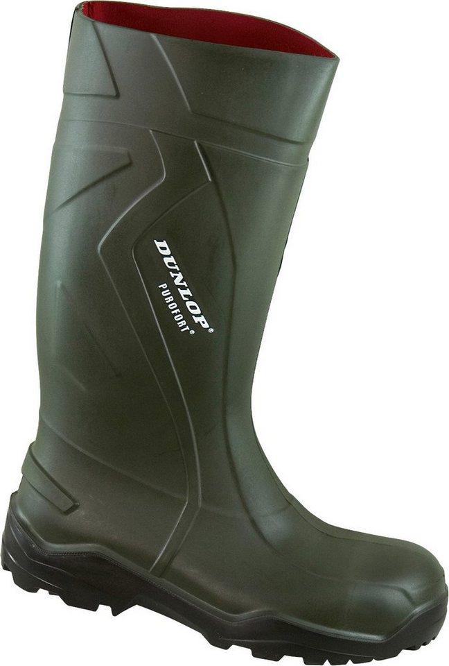 Dunlop Sicherheitsstiefel »Purofort+ S5« in grün