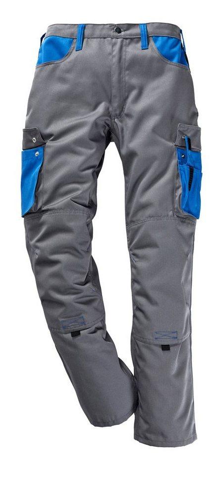 Arbeitshose »Lambda X« in grau/kornblau