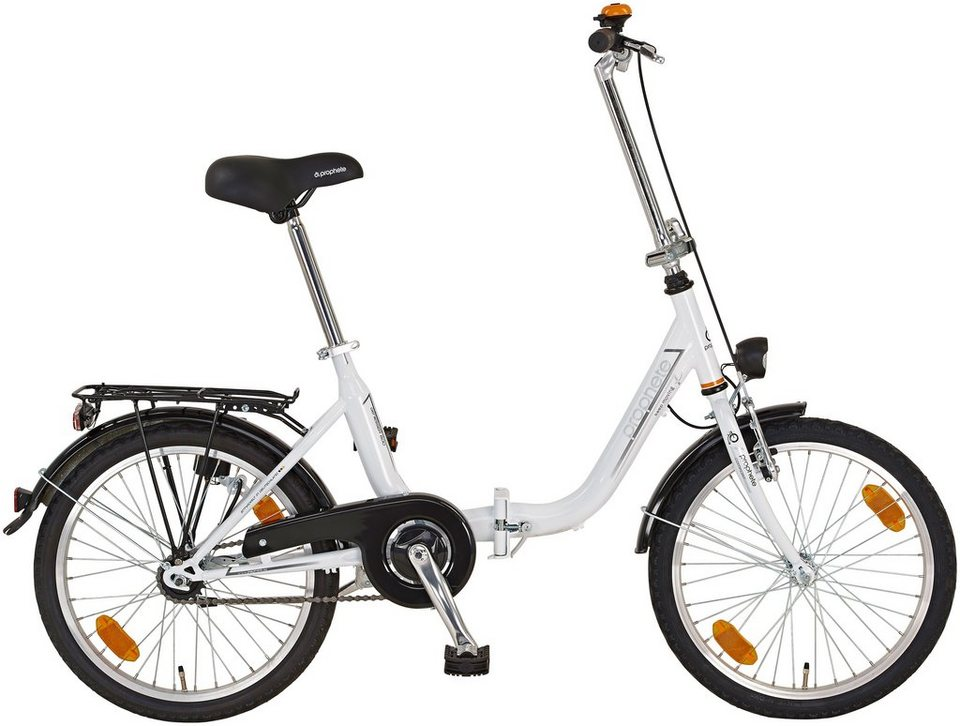 Faltrad »GENIESSER 600, 50,8 cm (20 Zoll)« in weiß