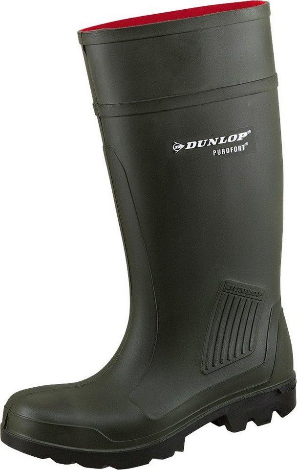 Dunlop Sicherheitsstiefel »Dunlop Purofort« in olivfarben