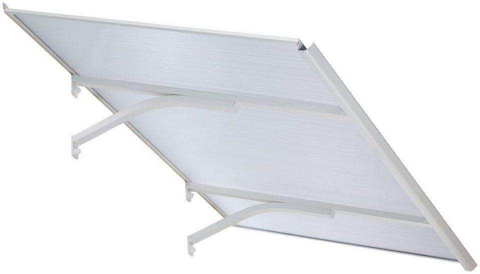 PALRAM Vordach »Columba 1500«, BxT: 150x83 cm in weiß