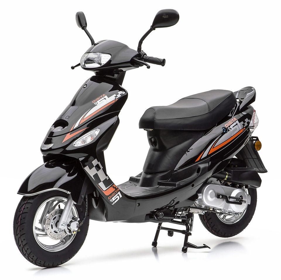Nova Motors Motorroller ohne Topcase, 49-ccm, 45 km/h, »City Star«