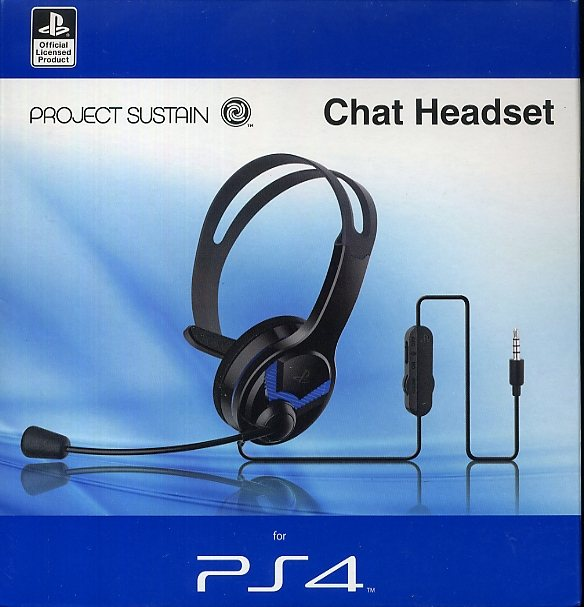 Gioteck Sustain MW4011 Chat Headset (Mono) »(PS4)«