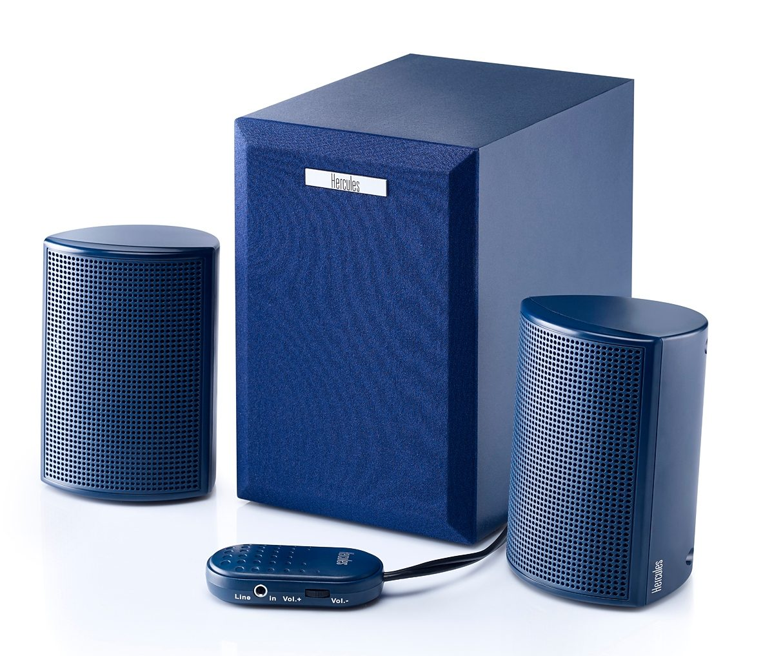 HERCULES Soundsystem 2.1 20 dunkel blau »(PC)«