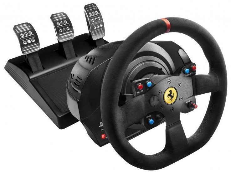 Thrustmaster T300 Ferrari Integral Racing Lenkrad Alcantara Edition »(PS4 PS3 PC)«