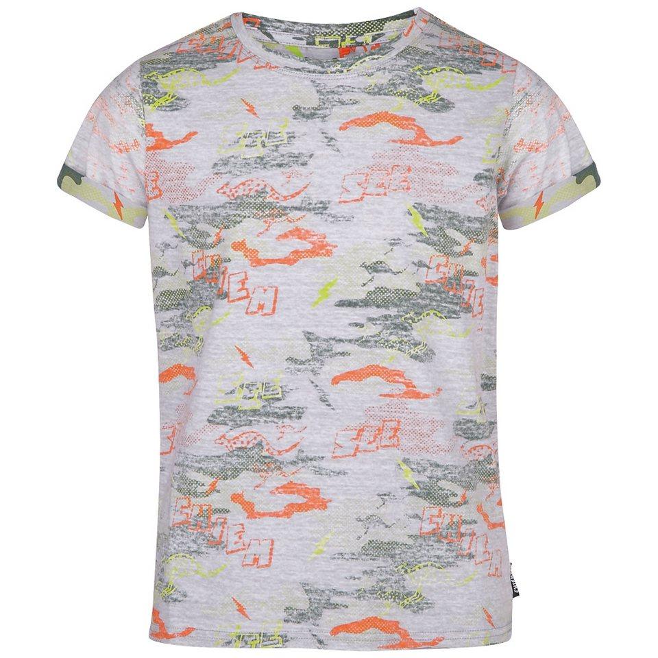 Chiemsee T-Shirt »LUCAS JUNIOR« in mania grey