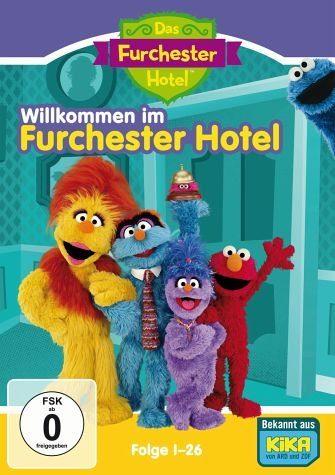 DVD »Sesamstraße - Das Furchester Hotel: Folge 1-26...«