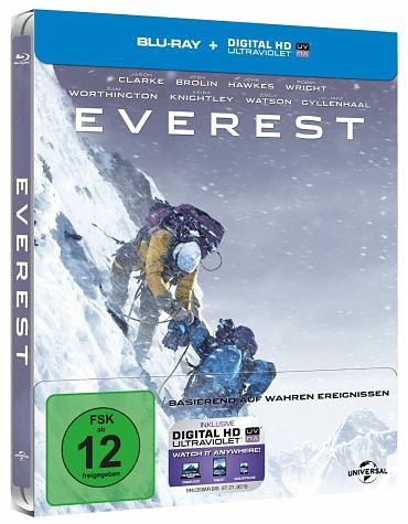 Blu-ray »Everest Limited Steelbook«