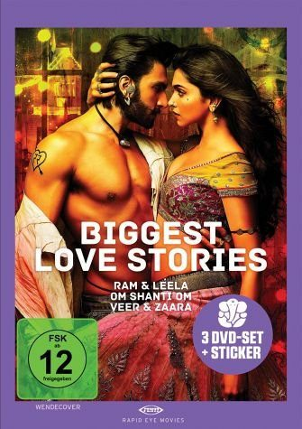 DVD »Biggest Love Stories (3 Discs)«