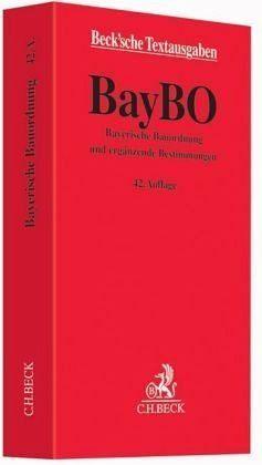 Broschiertes Buch »Bayerische Bauordnung«