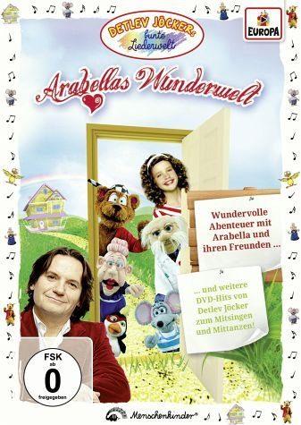DVD »Detlev Jöcker - Arabellas Wunderwelt«