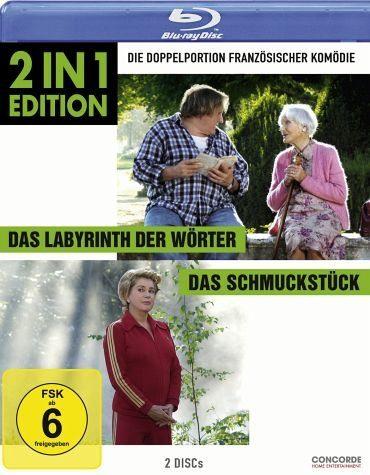 Blu-ray »Das Labyrinth der Wörter / Das Schmuckstück (2...«