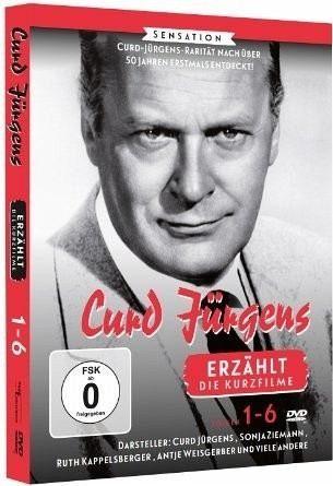 "DVD »Curd Jürgens erzählt ""Die Kurzfilme"" (Folge 1-6)«"