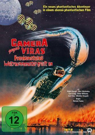 DVD »Gamera vs Viras - Frankensteins...«
