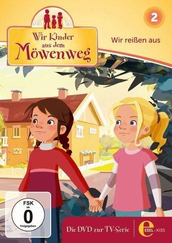 DVD »Wir Kinder aus dem Möwenweg - Wir reißen aus«