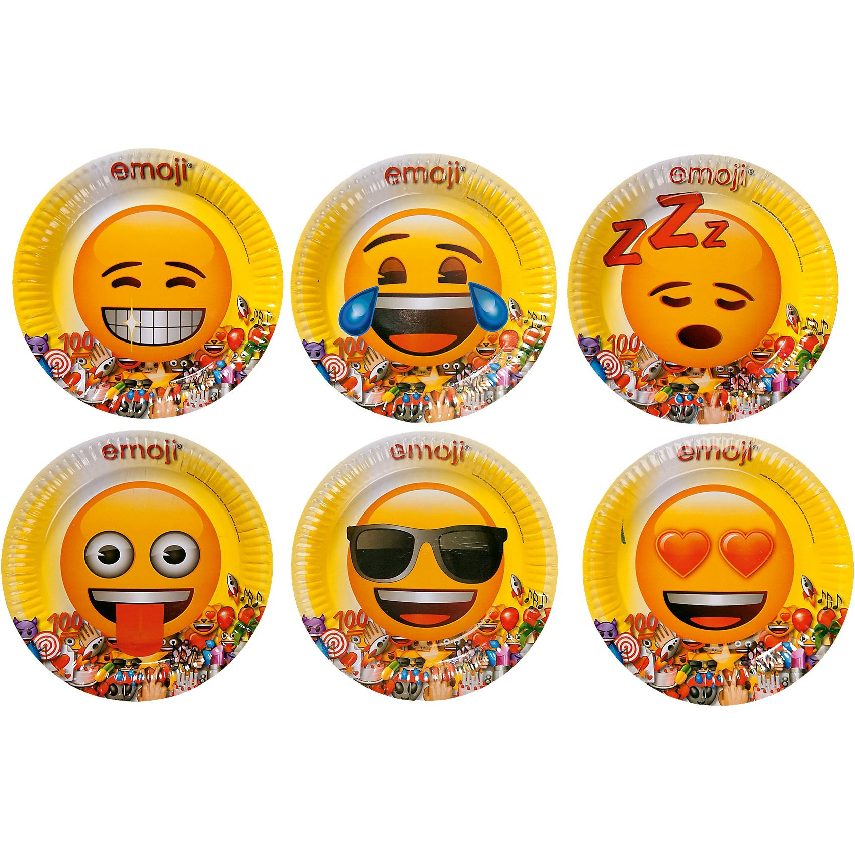 Party-Set Emoji, 35-tlg.