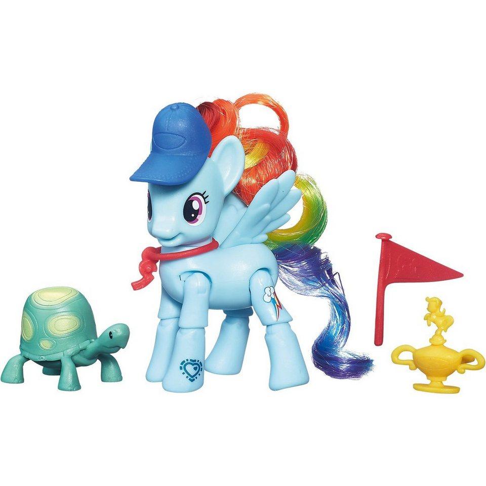 Hasbro My Little Pony Bewegliche Ponys mit Zubehör