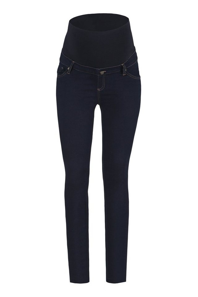 BELLYBUTTON Jeans für Schwangere »Mary super skinny leg« in dark blue denim