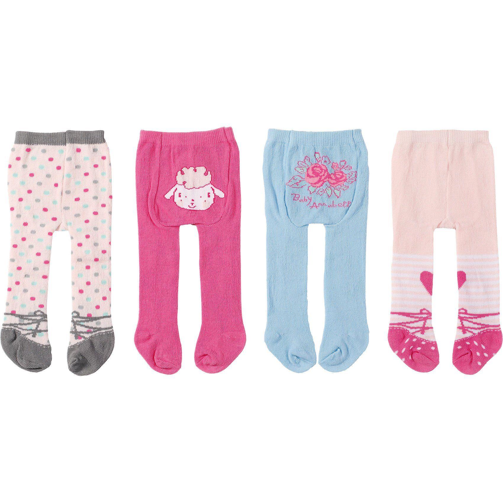 Zapf Creation Baby Annabell® Strumpfhosen (2er Pack)