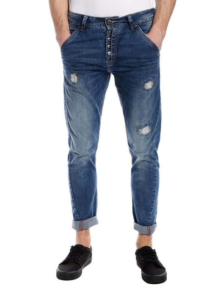 "TIMEZONE Jeans »DwayneTZ 3D ""3905 destroy hobo wash""« in destroy hobo wash"