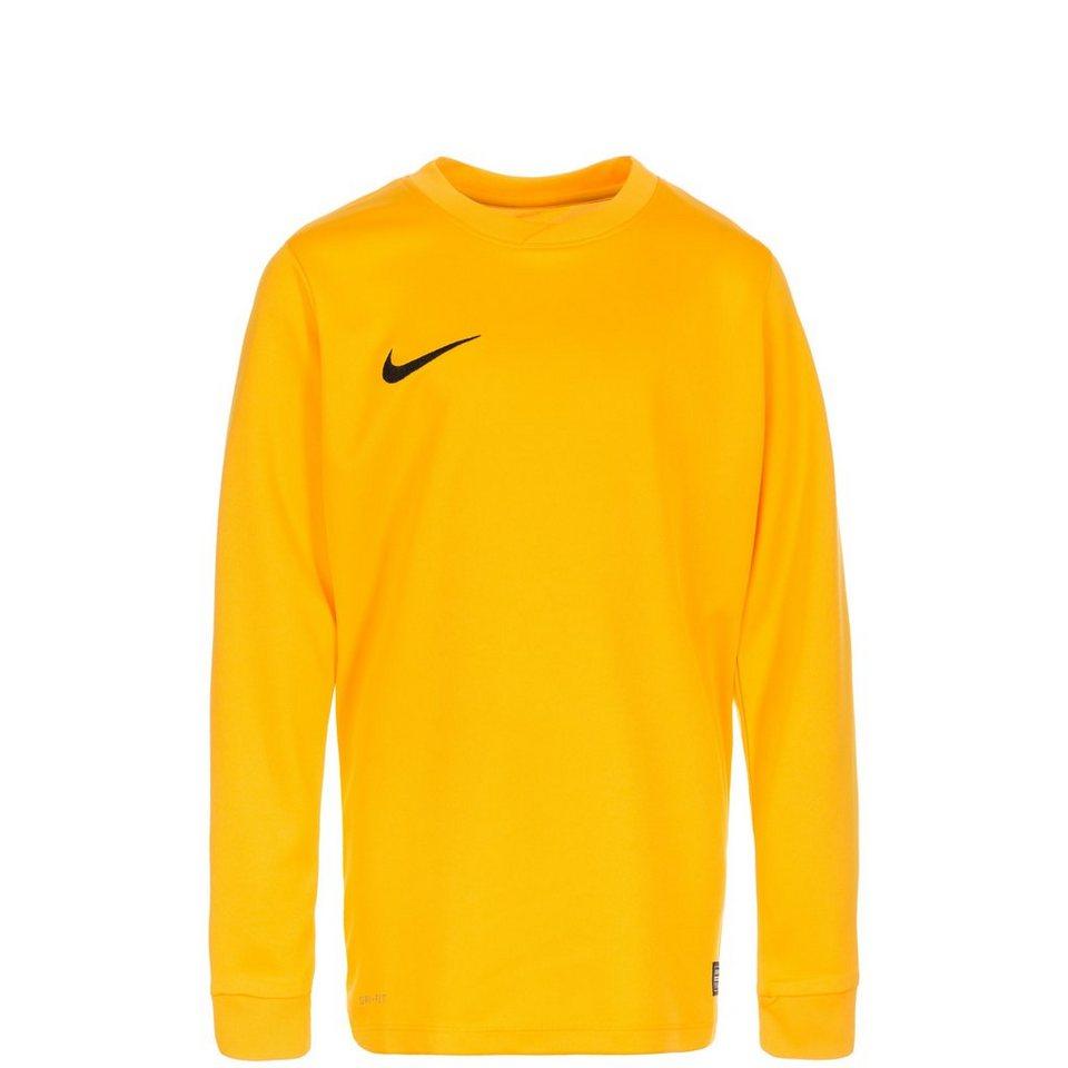 NIKE Park VI Fußballtrikot Kinder in gold / schwarz