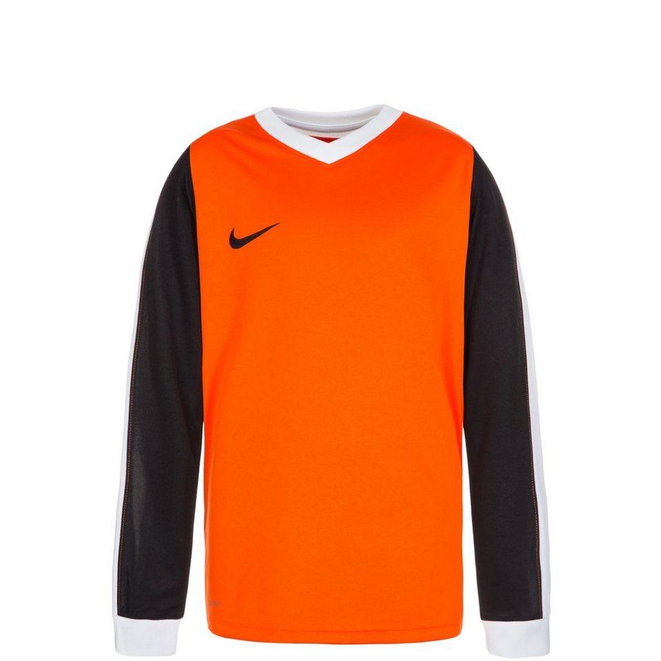 NIKE Striker IV Fußballtrikot Kinder in orange / weiß