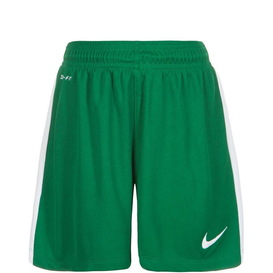 NIKE League Short Kinder in grün / weiß