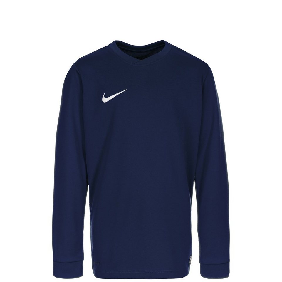 NIKE Park VI Fußballtrikot Kinder in dunkelblau / weiß
