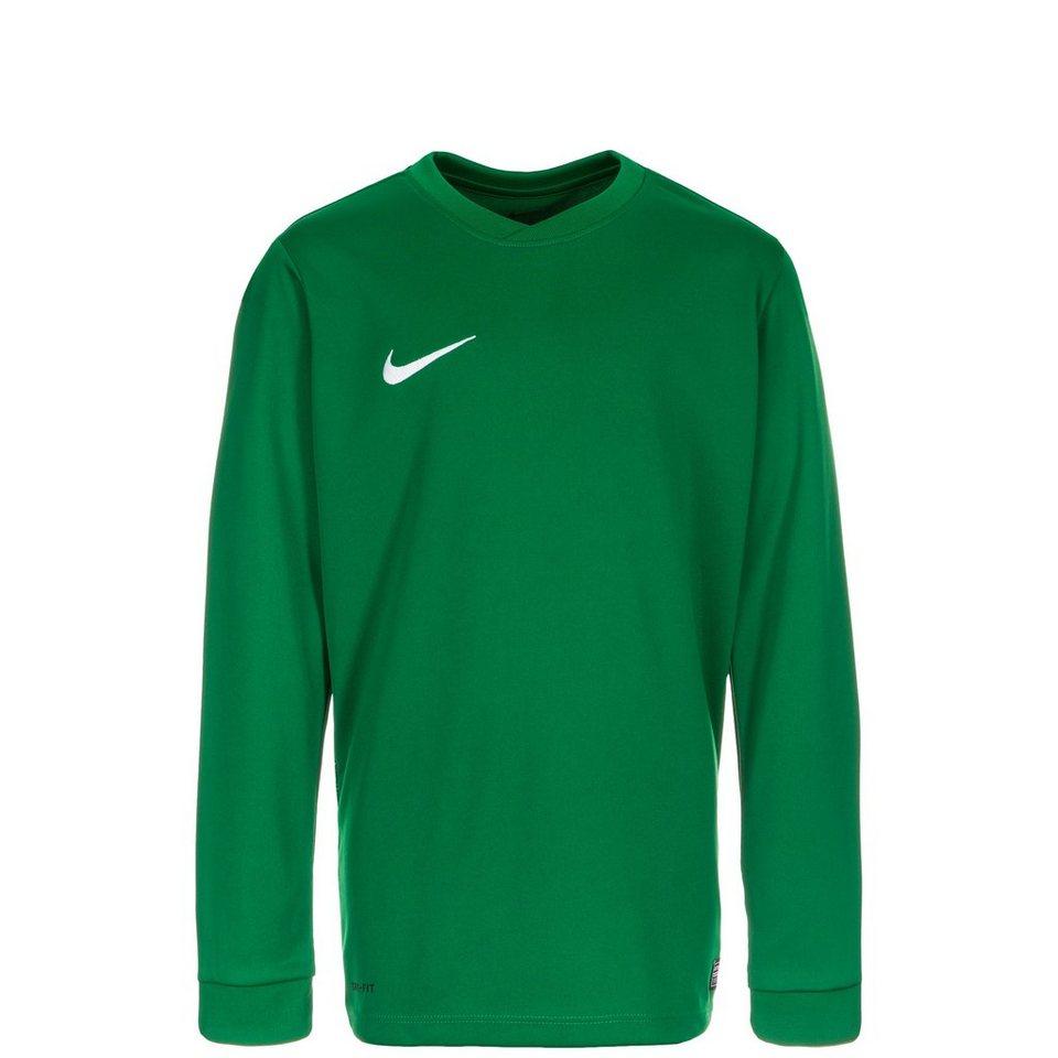 NIKE Park VI Fußballtrikot Kinder in grün / weiß