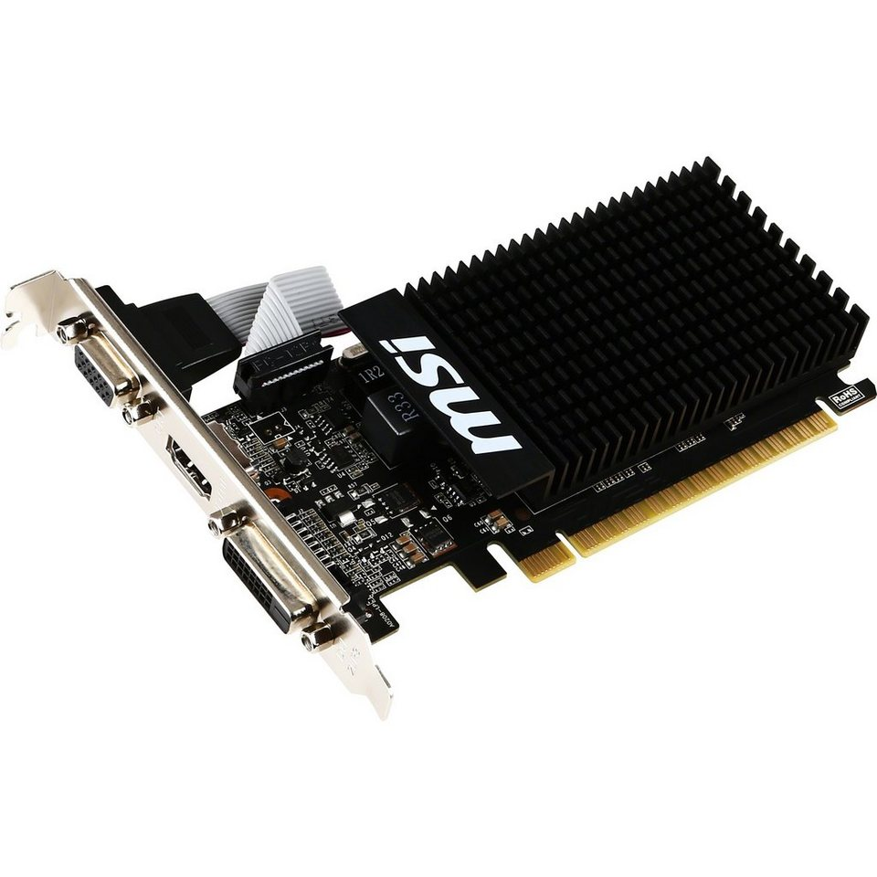 MSI Grafikkarte »GeForce GT 710 2GD3H LP«