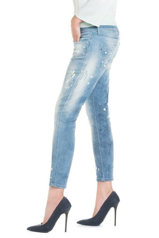 salsa jeans Jean »Boyfriend/ Kim« in Blue