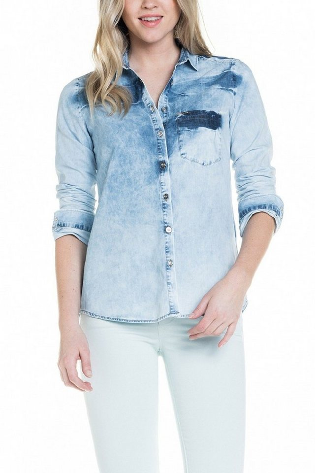 salsa jeans Bluse in Blue