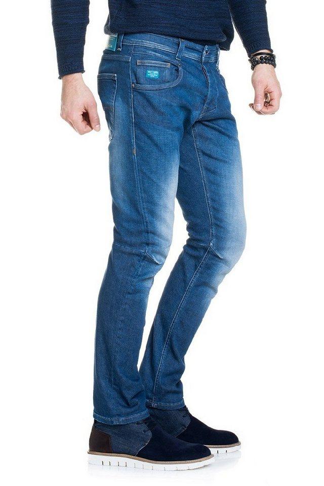 salsa jeans Jean »ER-GO« in Blue