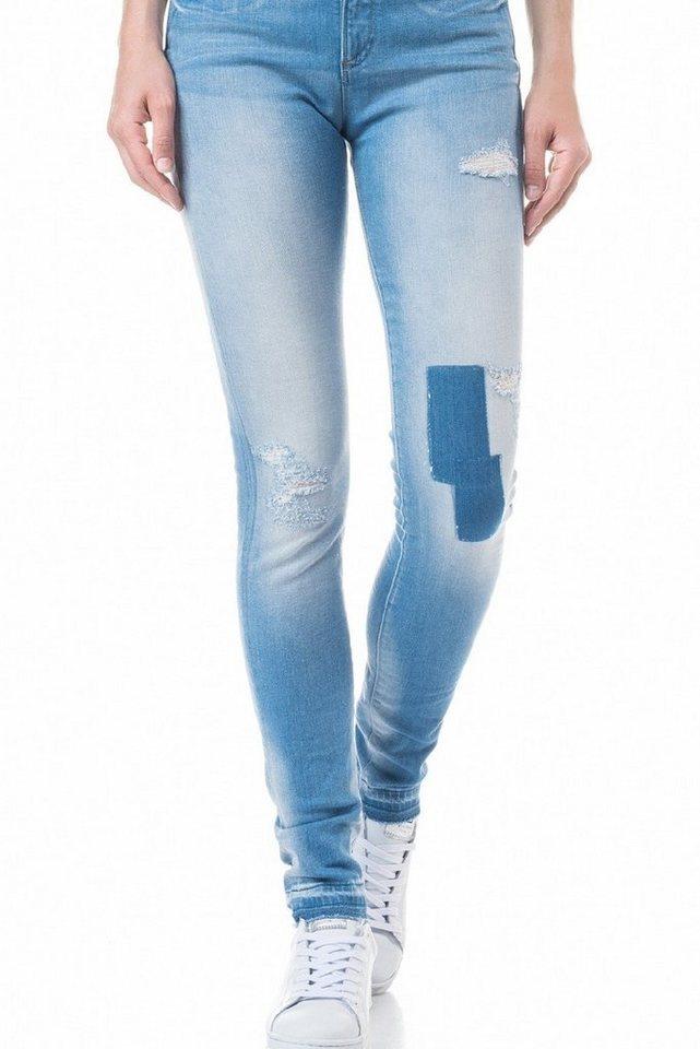 salsa jeans Jean »High waist/ Carrie« in Blue