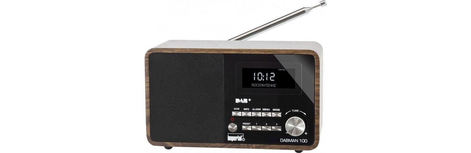 IMPERIAL DAB+ und UKW Radio »DABMAN 100«