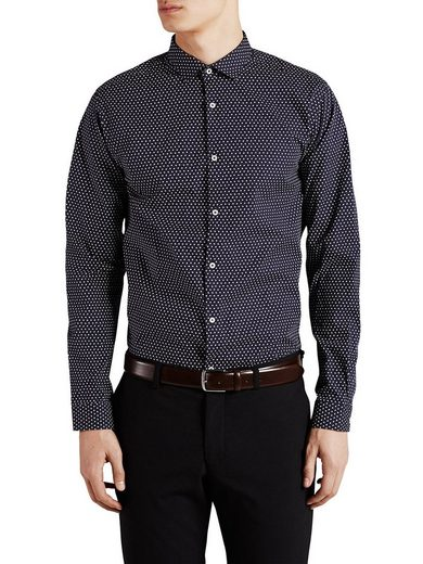 Jack & Jones Micro-Floralprint Businesshemd
