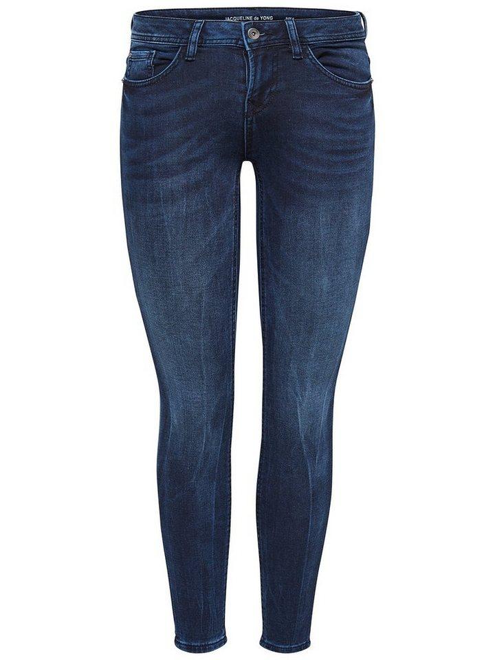 Only Jog Knöchel- Skinny Fit Jeans in Blue Indigo