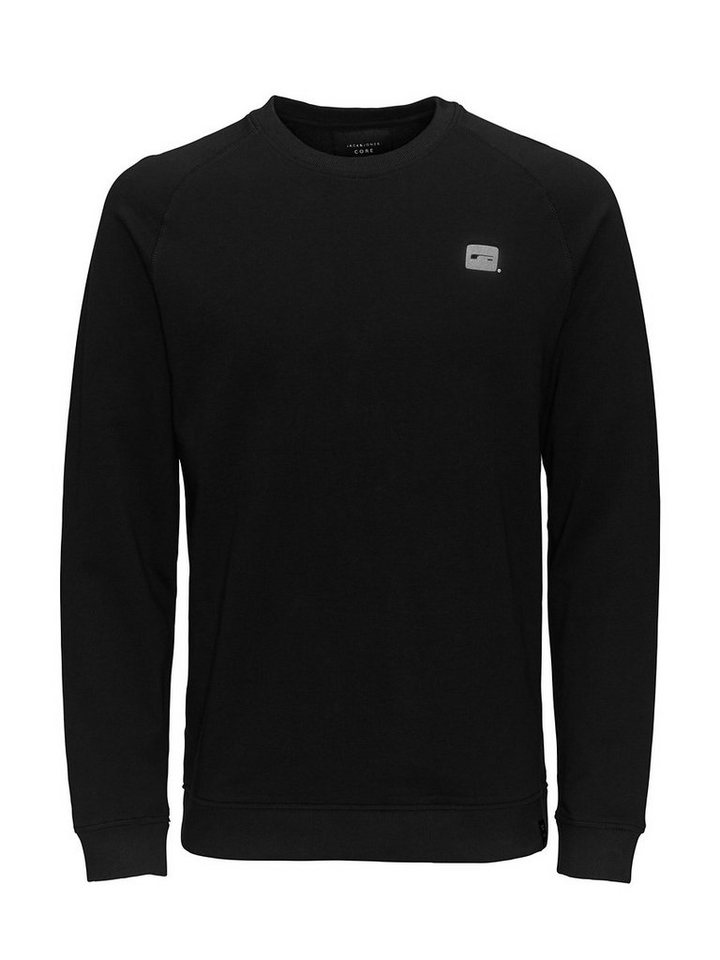 Jack & Jones Lässiges Sweatshirt in Black