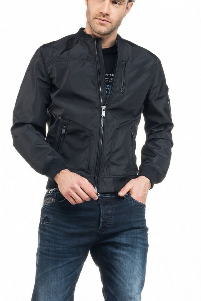 salsa jeans Outdoorjacke in Black